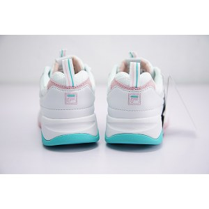"Кроссовки Folder X Fila Ray ""White/Pink/Mint"" Арт. 2706"