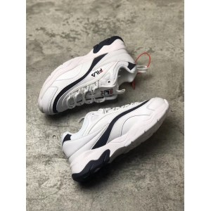 "Кроссовки Folder X Fila Ray ""White/Black"" Арт. 2707"