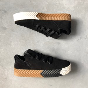 "Кроссовки Alexander Wang x Adidas Originals Skate ""Black"" Арт. 2748"