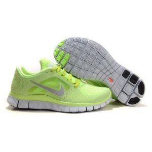 "Кроссовки Nike Free Run Plus 3 ""Green Lemon"""