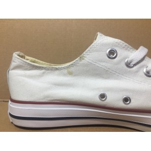"Кеды Converse All Star Low ""White"" Арт. 0327 (Уценка)"