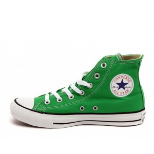 "Кеды Converse All Star Chuck Taylor High ""Green"" Арт. 2516 (Уценка)"