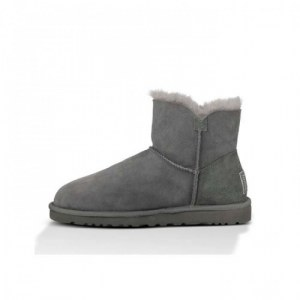 "UGG MINI BAILEY BUTTON BLING BOOT ""GREY"" Арт. 3442"