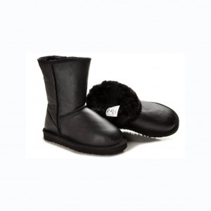 "UGG BABY CLASSIC II BOOT LEATHER ""BLACK"" Арт. 3467"