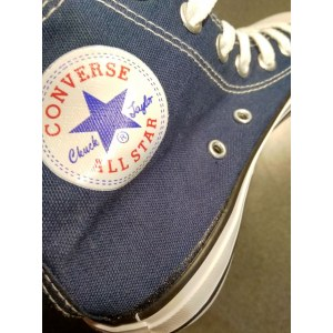 "Кеды Converse All Star Chuck Taylor High ""Blue"" Арт. 2458 (Уценка)"