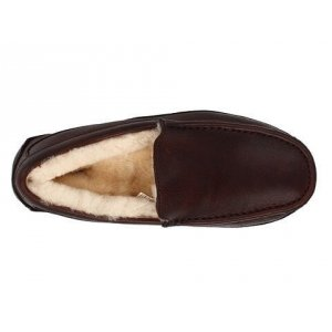 "UGG Ascot Leather ""Brown"" Арт. 1080"