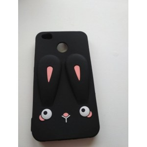 "Чехол Rabbit Xiaomi Redmi 4X ""Black"" Арт. 3627"
