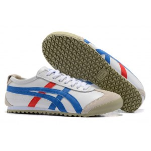 "Кроссовки Asics Gel x Onitsuka Tiger ""White/Cream/Blue/Red"" Арт. 3814"