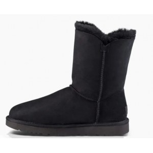 "UGG  BAILEY BUTTON II BOOT ""BLACK"" Арт. 0356"