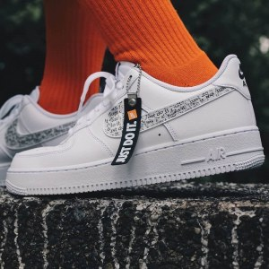 "Кроссовки Nike Air Force 1 '07 LV8 JDI ""White"" Арт. 3859"