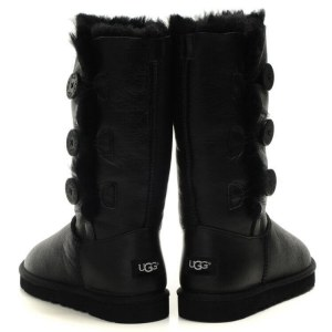 "UGG BAILEY BUTTON TRIPLET BOOT ""BLACK"" Арт. 0368"