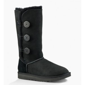 "UGG BAILEY BUTTON TRIPLET II BOOT ""BLACK"" Арт. 0367"