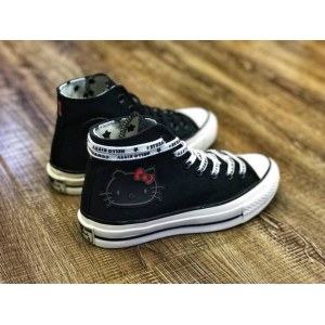 "Кеды Converse x Hello Kitty 2.0 ""Black"" Арт. 3874"