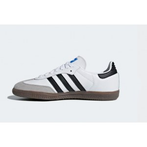 "Кроссовки Adidas Samba OG ""Cloud White/Core Black/Clear Granite"" Арт. 3940"
