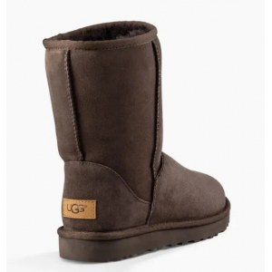 "UGG CLASSIC SHORT II BOOT ""CHOCOLATE"" Арт. 0385"