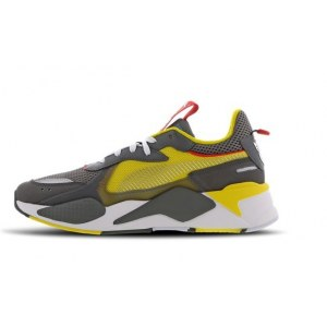"Кроссовки Puma Rs-x X Transformers Bumblebee ""Quiet Shade/Cyber Yellow/White"" Арт. 3948"
