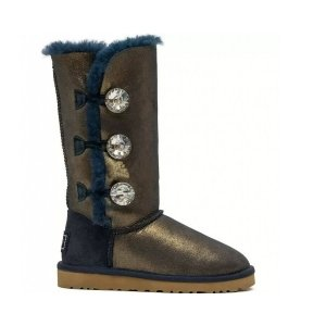 "UGG Bailey Button Triplet ""Bing Blue Gold"" Арт. 1036"