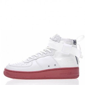 "Кроссовки Nike SF Air Force 1 Utility Mid ""White/Gum"" Арт. 1992 (Уценка)"