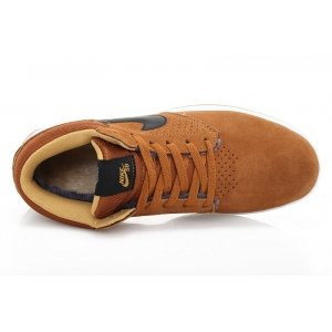 "Кроссовки Nike Paul Rodriguez 5 mid ""Lihgt Brown"""