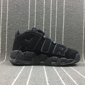 "Кроссовки Nike Air More Uptempo ""Absolut Black"" Арт. 3431"