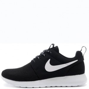 "Кроссовки Nike Roshe Run ""Black/White"""