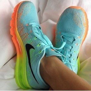 "Кроссовки Nike Air Max Flyknit ""Mint"""