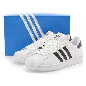 "Кроссовки Adidas Superstar II ""White/Black"" Арт. 0127"