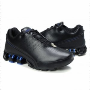 "Кроссовки Adidas Porsche Design IV ""Leather Black/Blue"""