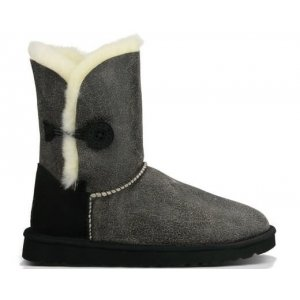 UGG BAILEY BUTTON II BOOT LEATHER