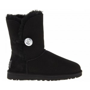 "UGG BAILEY BUTTON II BLING BOOT ""BLACK"" Арт. 0350"