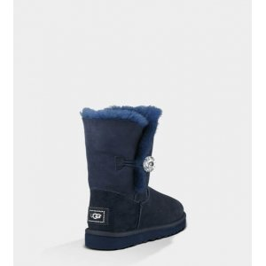 "UGG BAILEY BUTTON BLING BOOT ""NAVY"" Арт. 0351"