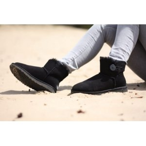 "UGG Bailey Button Mini ""Black"" Арт. 0375"
