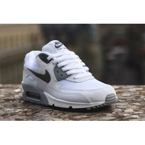 "Кроссовки Nike Air Max 90 ""White/Grey-Black"""
