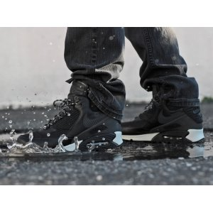"Кроссовки Nike Air Max 90 Winter Sneakerboot ""Black Reflective"" Арт. 0013"