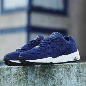 "Кроссовки Puma Trinomic R698 ""Allover Suede Blue"