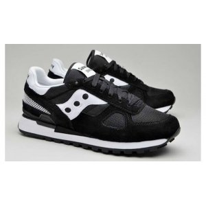 "Кроссовки Saucony Shadow Original ""Black/White"" Арт. 0222"