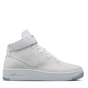 "Кроссовки Nike Air Force 1 Ultra Flyknit Mid ""White"" Арт. 0311"