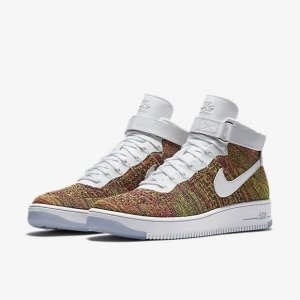"Кроссовки Nike Air Force 1 Ultra Flyknit Mid ""Multicolor"" Арт. 1093"