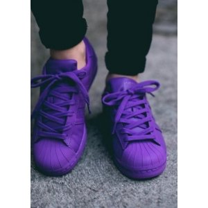 "Кроссовки Adidas Superstar Supercolor ""Purple"" Арт. 0159"
