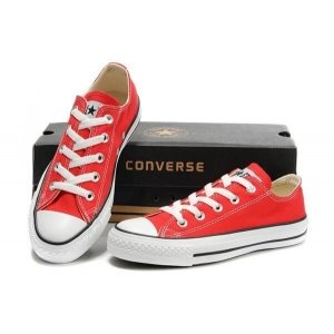 "Кеды Converse Chuck Taylor All Star Low ""Red/White"" Арт. 0328"