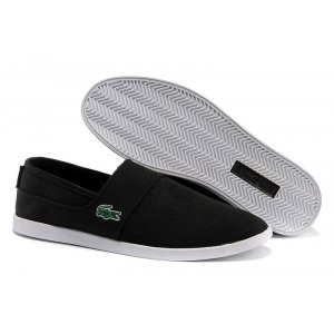 "Слипоны Lacoste Slip-On Gazon Sport ""Black"" Арт. 0313"