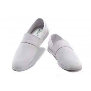 "Слипоны Lacoste Slip-On Gazon Sport ""White"" Арт. 0498"