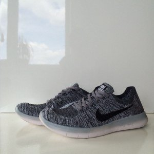 "Кроссовки Nike Free Run Flyknit ""Grey Wind"" Арт. 0085"